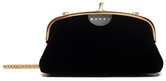 Marni Logo Clasp Clutch Bag