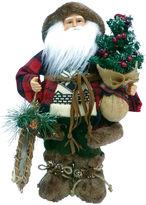 Asstd National Brand 16 Woodsman With Canoe Santa