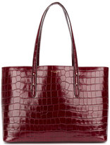 Aspinal of London crocodile embossed tote - women - Patent Leather - One Size