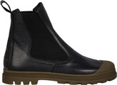 Stone Island Leather Ankle Boots