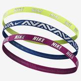 Nike Metallic Hairbands (3 Pack)