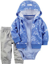 Carter's Long SleeveHoodie - Baby Boys
