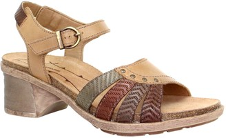 Dromedaris Adjustable Leather Strap Sandals - Shelly