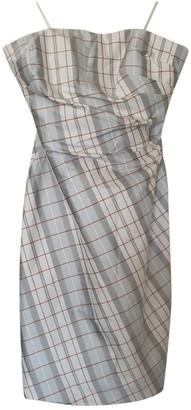 Kay Unger Multicolour Silk Dress for Women
