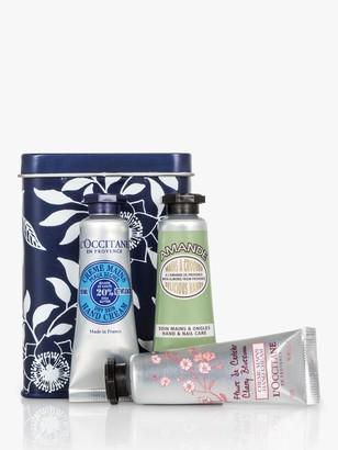 L'Occitane Petite Hand Cream Trio Bodycare Gift Set, 3 x 10ml