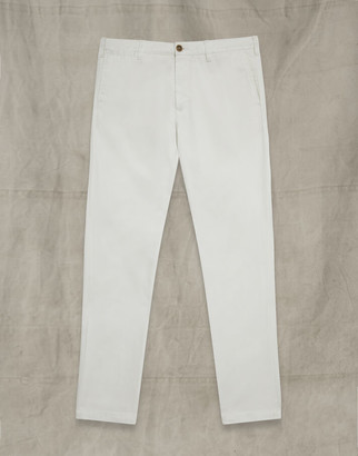 Belstaff OFFICERS CHINO TROUSERS White