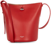 Rochas Bright Red Borsa Bel Bucket Bag