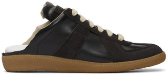 Maison Margiela Black Backless Replica Sneakers