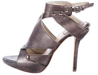 Metallic Ankle Strap Strap Metallic Metallic Ankle Ankle Sandals Sandals qUzMSGpV