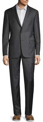 Hickey Freeman Milburn II Classic-Fit Pinstripe Suit