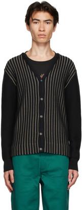 Stussy Black Stripe Cardigan