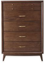 Pulaski Modern Harmony 5-Drawer Chest in Walnut