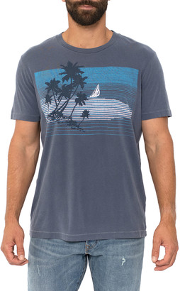 Sol Angeles Men's Ocean Breeze Graphic Crewneck T-Shirt
