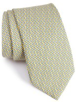 Vineyard Vines Seashell Print Silk Tie