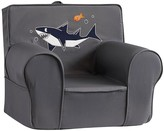 Pottery Barn Kids Gray with Shark Icon Anywhere Chair ®