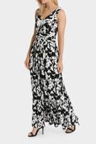 NEW Leona by Leona Edmiston Leaf Print Jersey Maxi Dress Assorted