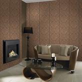 Graham & Brown 56 sq. ft. Copper Gloriana Wallpaper