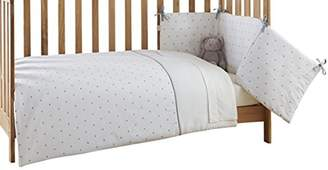 Clair De Lune Lullaby Hearts Cot/Cot Bed Quilt & Bumper Set