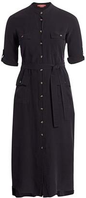 Marina Rinaldi, Plus Size Utility Button-Up Shirtdress