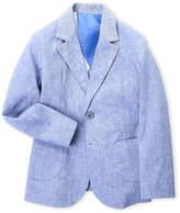 Manuell & Frank Boys 4-7Y) Striped Lapel Suit Jacket