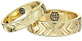House Of Harlow Iconic Etch Band Stackable Ring, Size 6