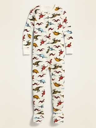 Old Navy Unisex Printed Footie Pajama One-Piece for Toddler & Baby
