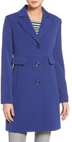 Kenneth Cole New York Women's Kenneth Cole A-Line Ponte Coat