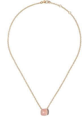 Pomellato 18kt Rose Gold Quartz Stone Necklace