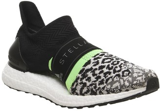 Stella McCartney Adidas adidas  X Ultra Boost X Trainers Black Toe Leopard Logo