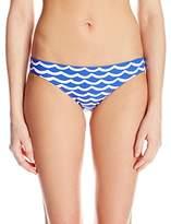 Seafolly Women's Tidal Wave Hipster Bikini Bottom,2