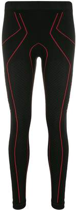 Unravel Project textured jersey leggings