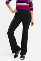 Classic Women's Tall Active Control Boot Cut Pants-Black