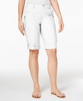 Style&Co. Style & Co Style & Co Petite Cuffed Bermuda Shorts, Created for Macy's