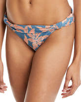 Vix Margarita Bia Tube Floral-Print Full Swim Bikini Bottoms