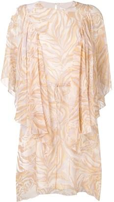 See by Chloe Printed Layered Dress