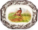 Spode Octagonal Pheasant Platter