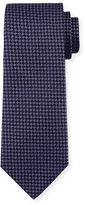 Armani Collezioni Dotted Diamond Silk Tie, Purple