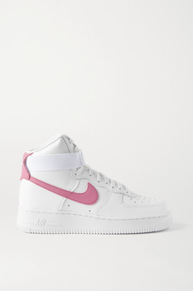 Nike Air Force 1 High Leather Sneakers - White