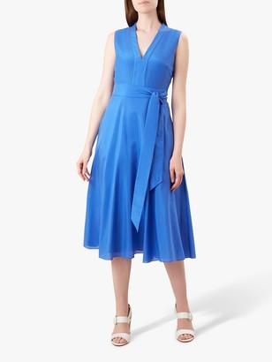 Hobbs Regina Tie Waist Dress