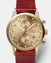 Triwa Gold Lansen Chrono - Cognac Classic