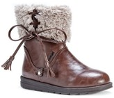 Muk Luks Women's Shirley Shearling Collar Boots