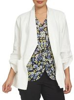 Chaus Electric Sunset Linen Jacket