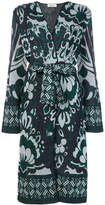 Circus Hotel printed belted coat
