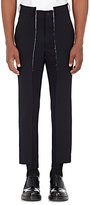 Comme des Garcons Men's Raw-Edge Wool Twill Asymmetric Trousers