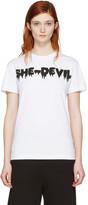 McQ by Alexander McQueen White she-devil T-shirt