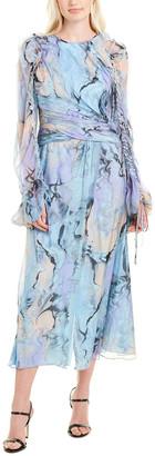 Flor Et. Al Flor Et.Al Silk Gown