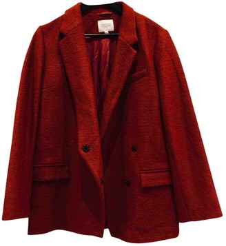 Dagmar Red Wool Jacket for Women