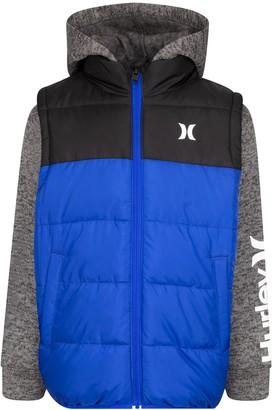 Hurley Boys 4-7 2-1 Puffer Jacket