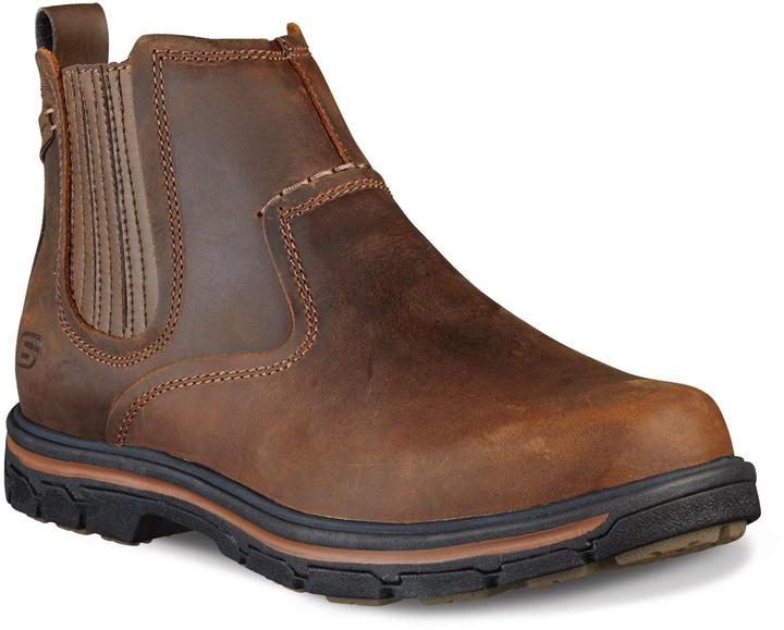 Acquista 2 FUORI QUALSIASI CASO skechers leather boots E