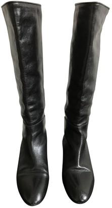 Loeffler Randall Black Leather Boots